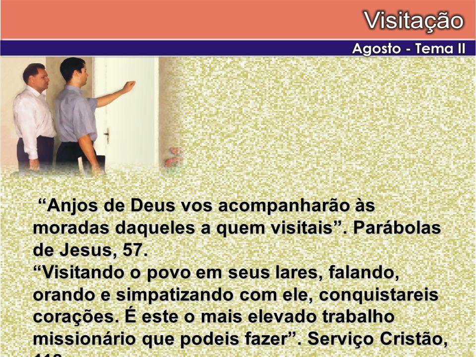 Anjos de Deus vos acompanharão às moradas daqueles a quem visitais