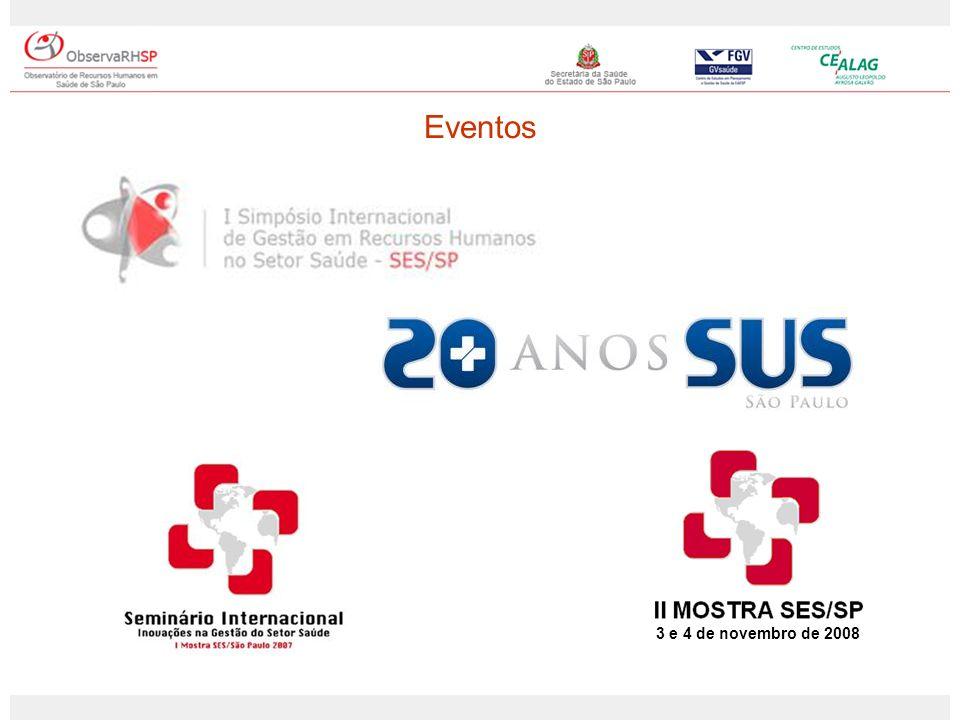 Eventos 3 e 4 de novembro de 2008