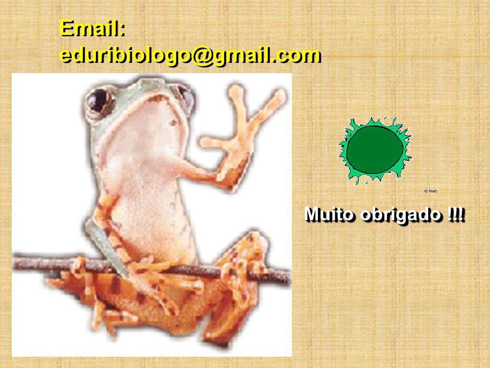 Email: eduribiologo@gmail.com Muito obrigado !!!