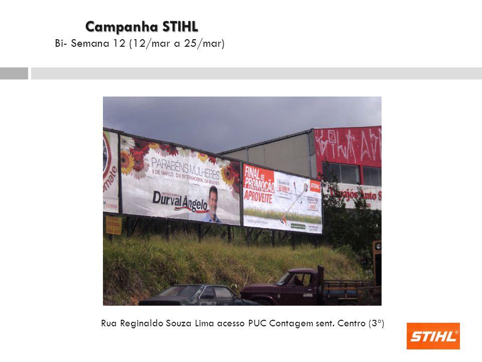 Rua Reginaldo Souza Lima acesso PUC Contagem sent. Centro (3ª)