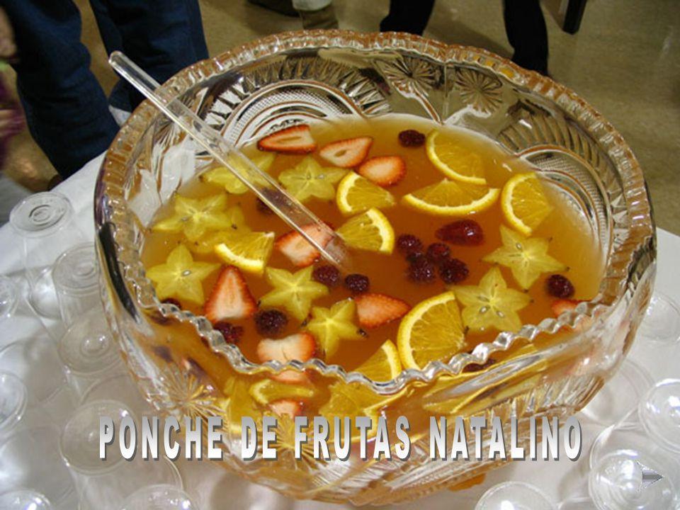 PONCHE DE FRUTAS NATALINO