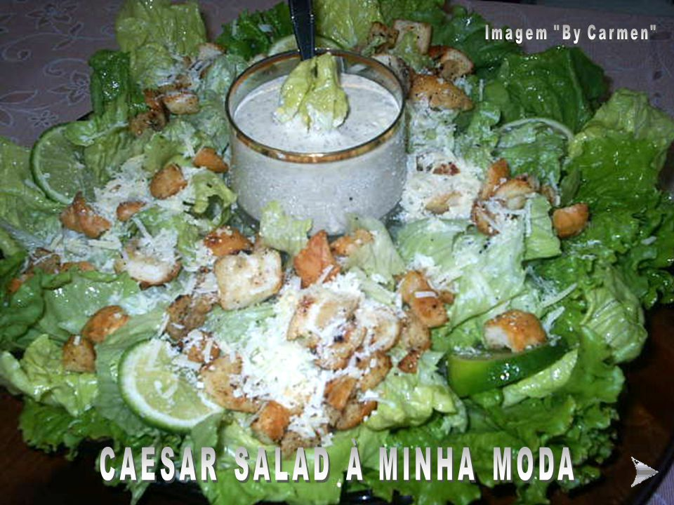 CAESAR SALAD À MINHA MODA
