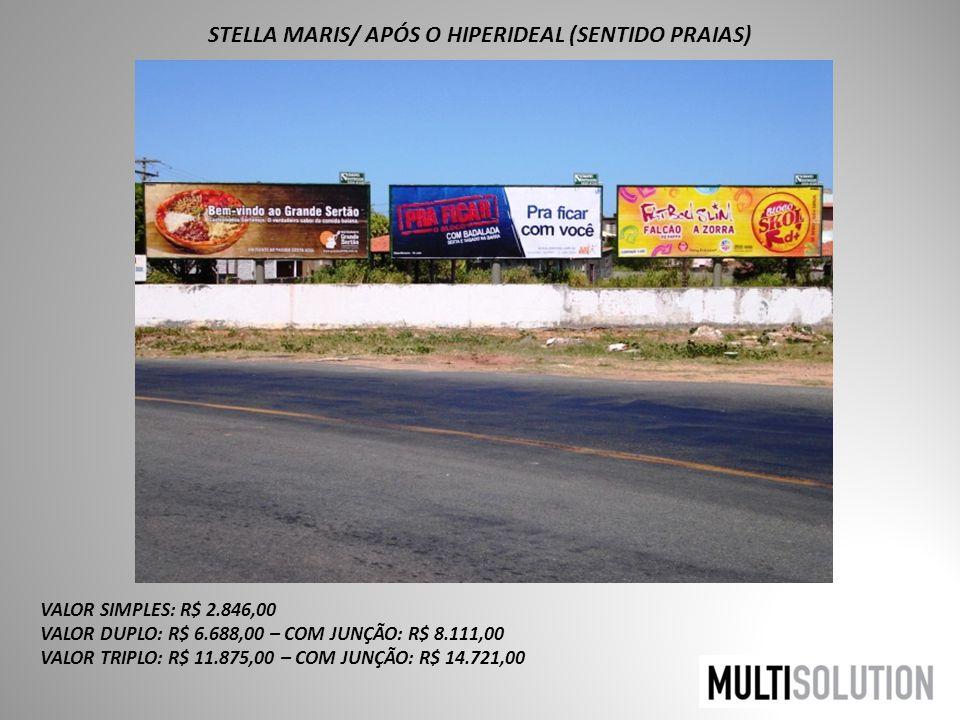 STELLA MARIS/ APÓS O HIPERIDEAL (SENTIDO PRAIAS)