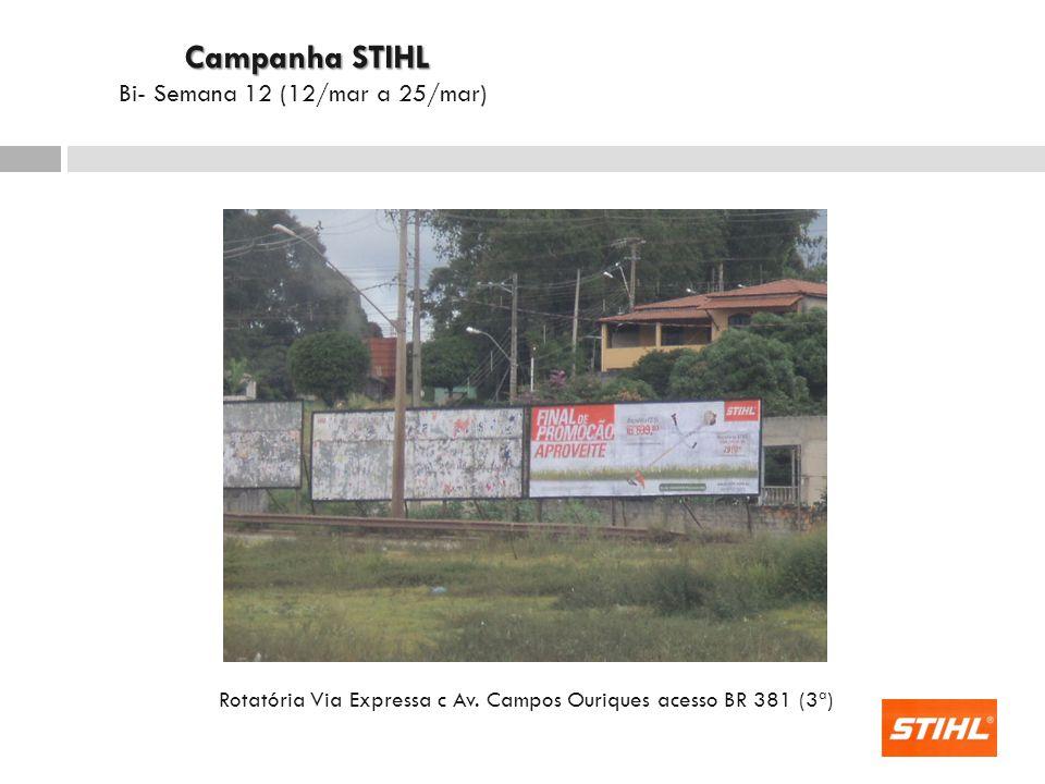 Rotatória Via Expressa c Av. Campos Ouriques acesso BR 381 (3ª)