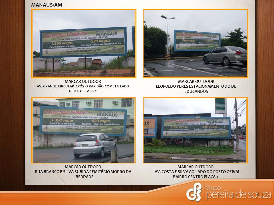 MANAUS/AM MARCAR OUTDOOR MARCAR OUTDOOR