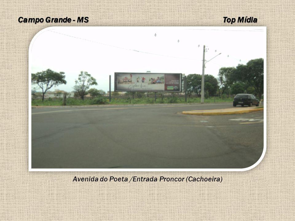 Avenida do Poeta /Entrada Proncor (Cachoeira)