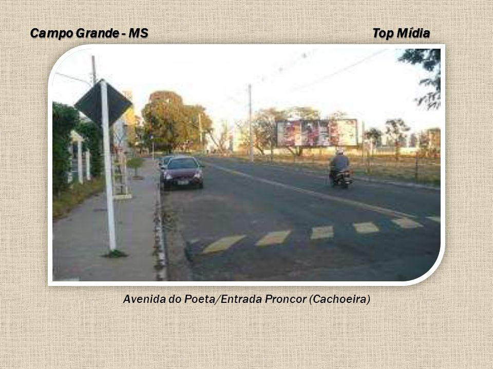 Avenida do Poeta/Entrada Proncor (Cachoeira)