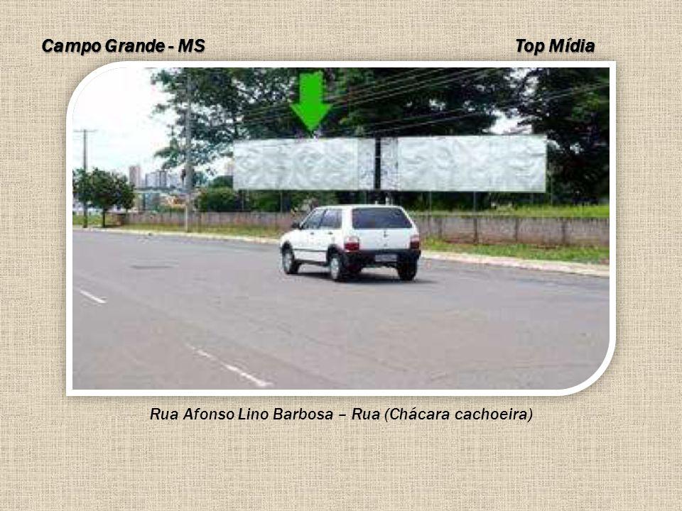 Rua Afonso Lino Barbosa – Rua (Chácara cachoeira)