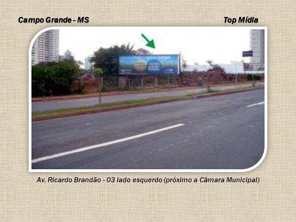 Av. Ricardo Brandão - 03 lado esquerdo (próximo a Câmara Municipal)