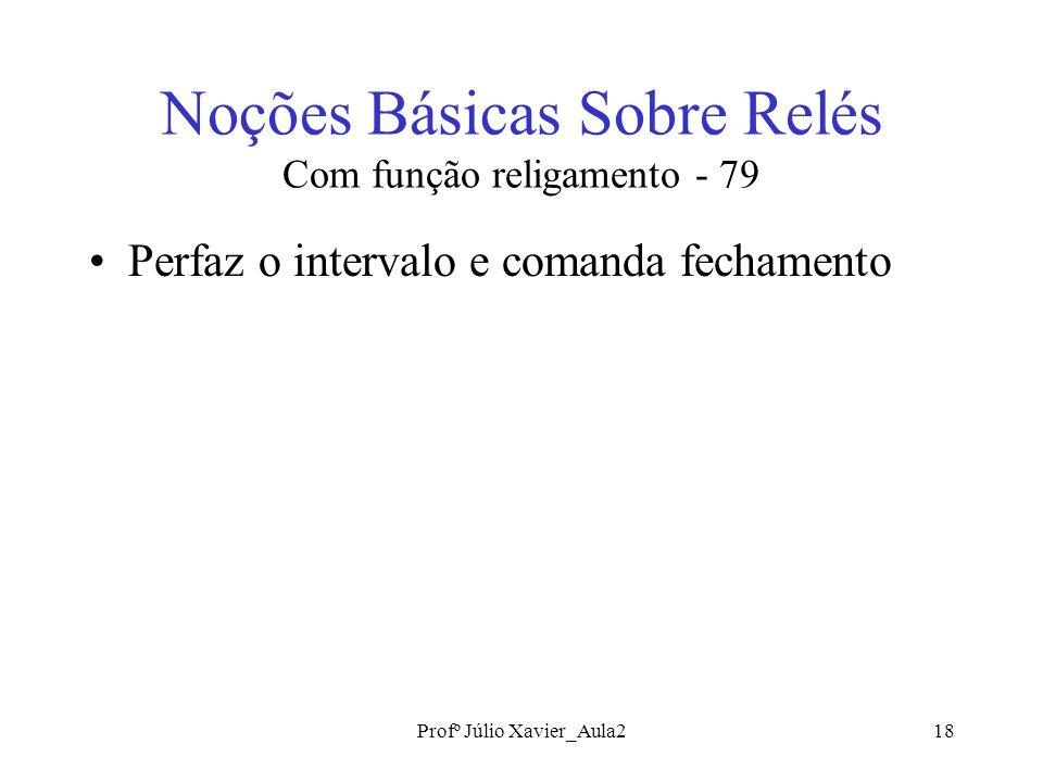 Noções Básicas Sobre Relés Com função religamento - 79