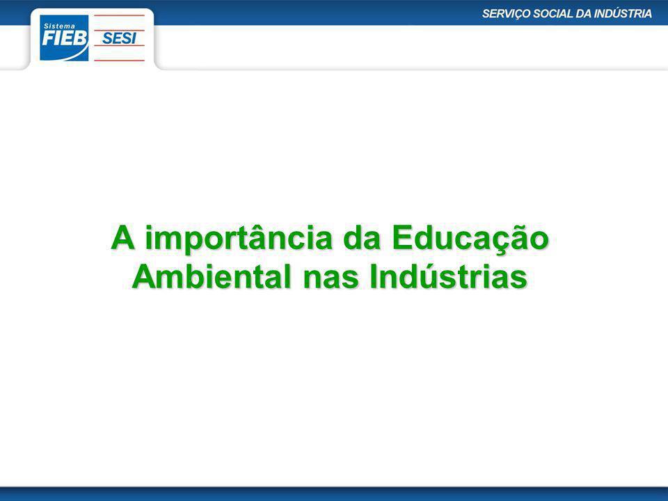 A importância da Educação Ambiental nas Indústrias