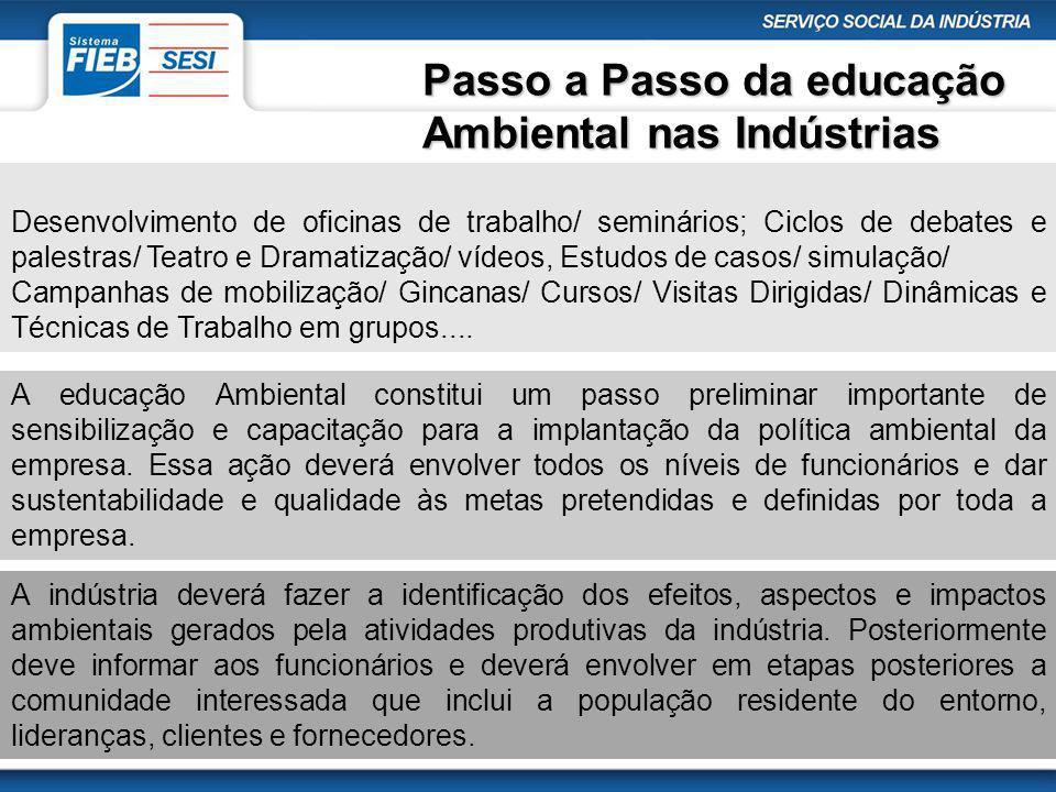 Passo a Passo da educação Ambiental nas Indústrias