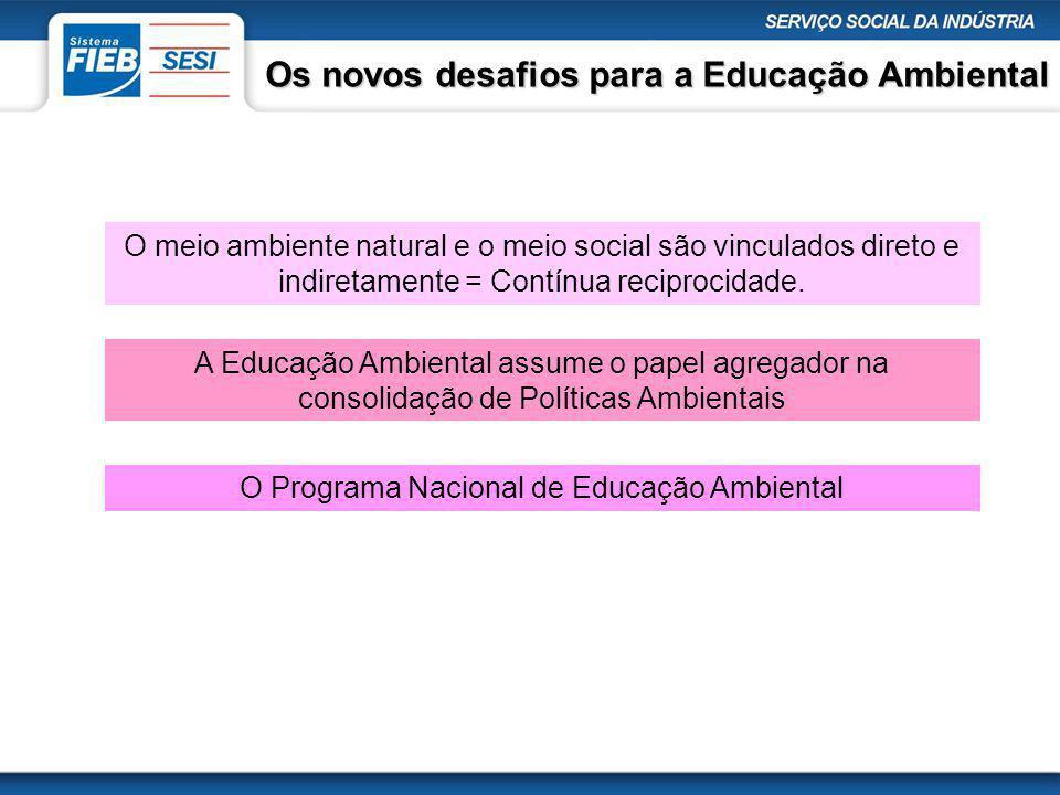 O Programa Nacional de Educação Ambiental