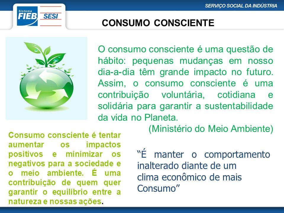 (Ministério do Meio Ambiente)