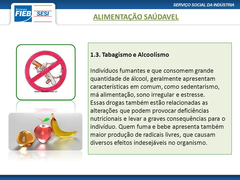 Alimentação Saudável ALIMENTAÇÃO SAÚDAVEL.