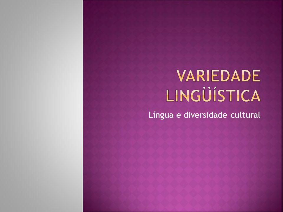 Variedade Lingüística