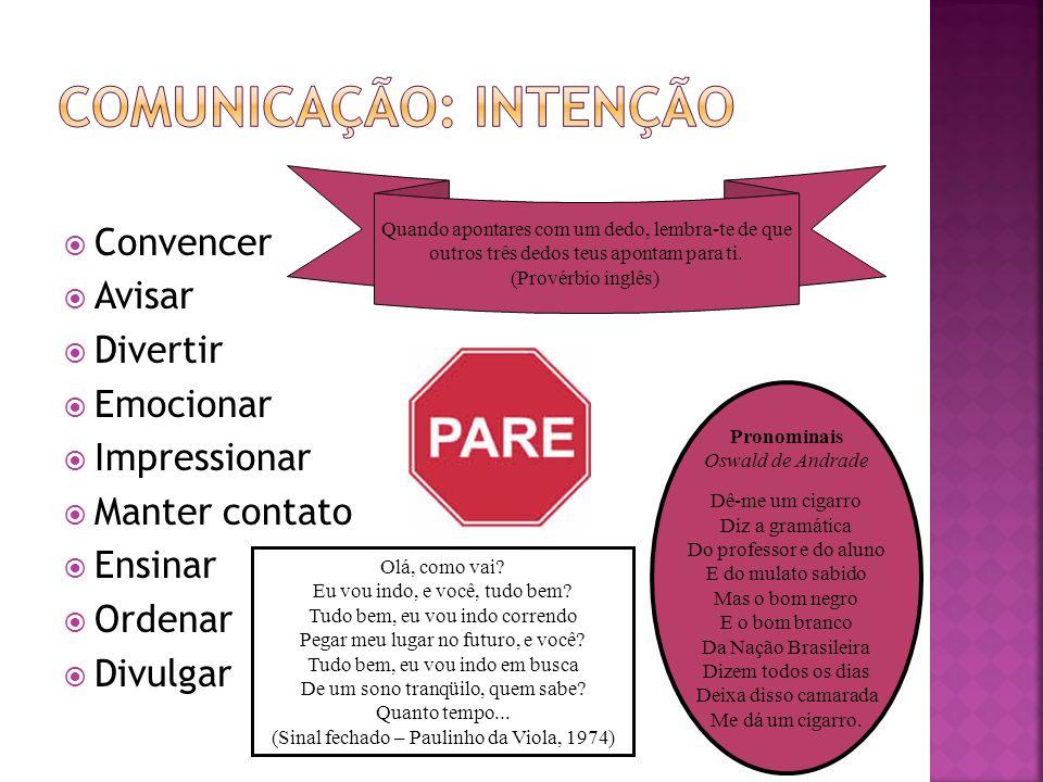 Comunicação: Intenção