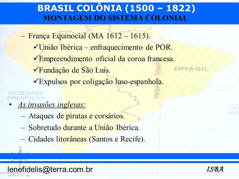 França Equinocial (MA 1612 – 1615).