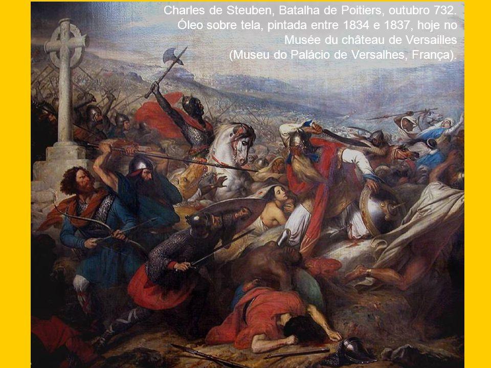 Charles de Steuben, Batalha de Poitiers, outubro 732.
