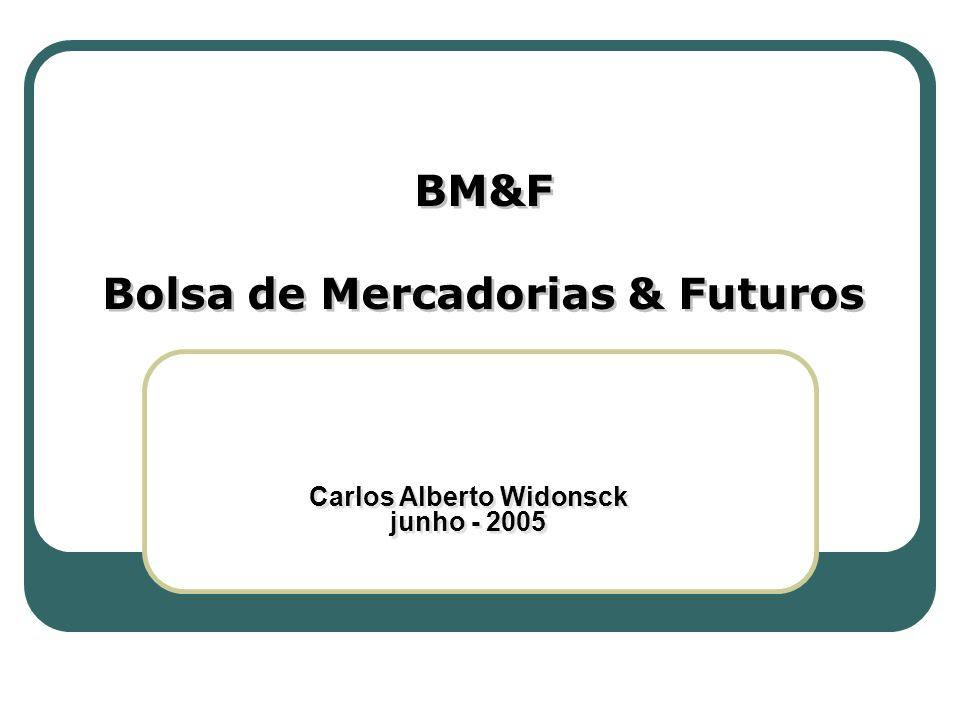Bolsa de Mercadorias & Futuros Carlos Alberto Widonsck