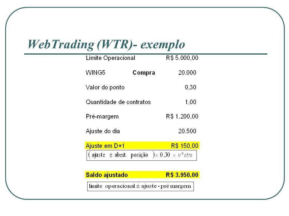 WebTrading (WTR)- exemplo