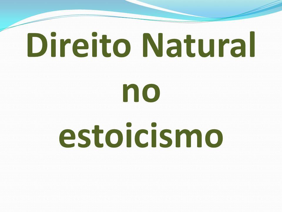 Direito Natural no estoicismo