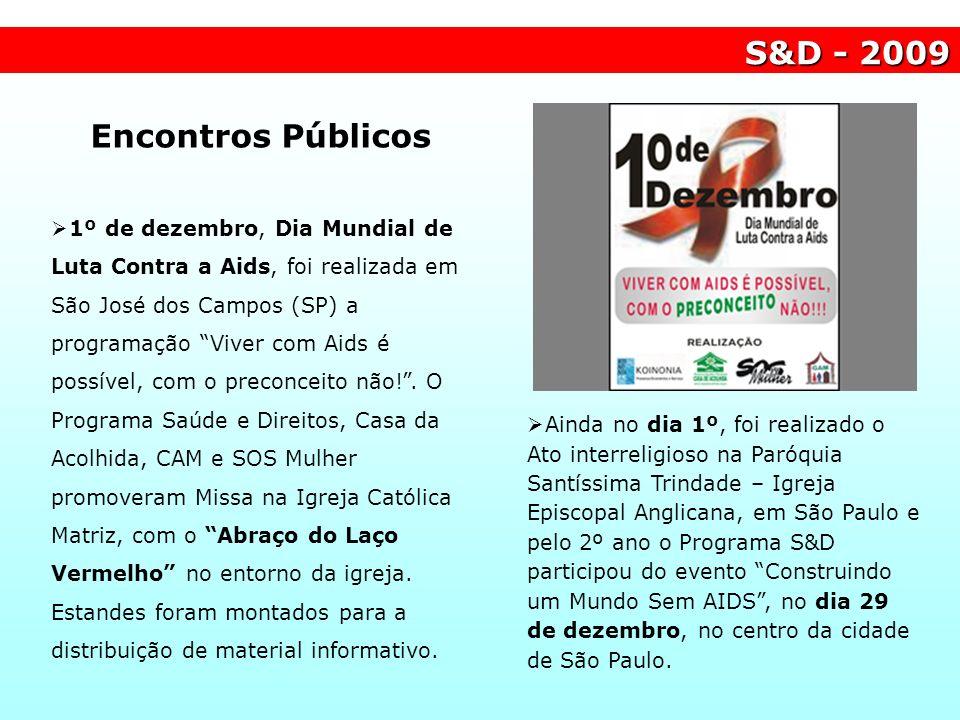 S&D - 2009 Encontros Públicos