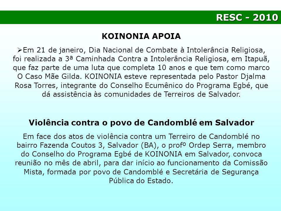Violência contra o povo de Candomblé em Salvador
