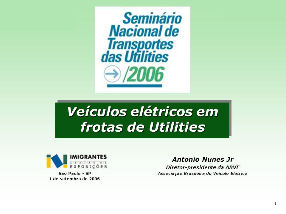 Veículos elétricos em frotas de Utilities