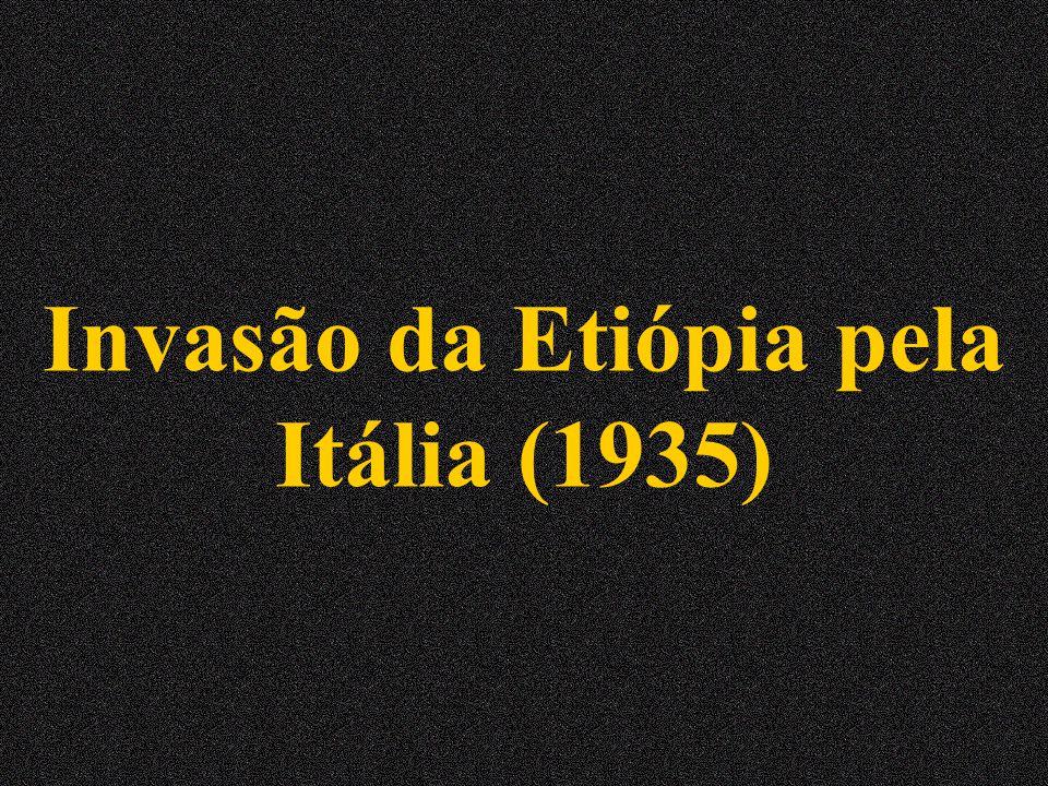 Invasão da Etiópia pela Itália (1935)