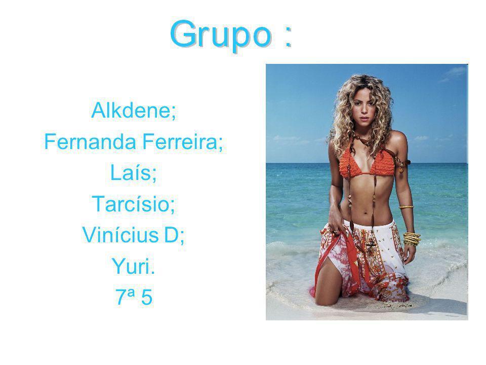 Alkdene; Fernanda Ferreira; Laís; Tarcísio; Vinícius D; Yuri. 7ª 5