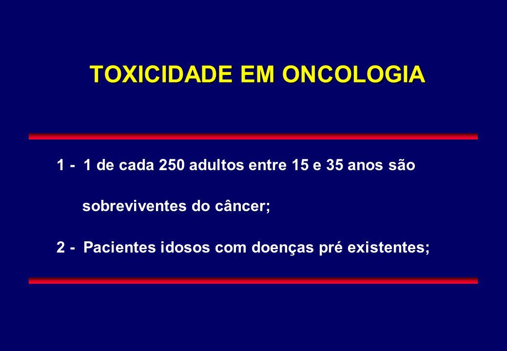 TOXICIDADE EM ONCOLOGIA