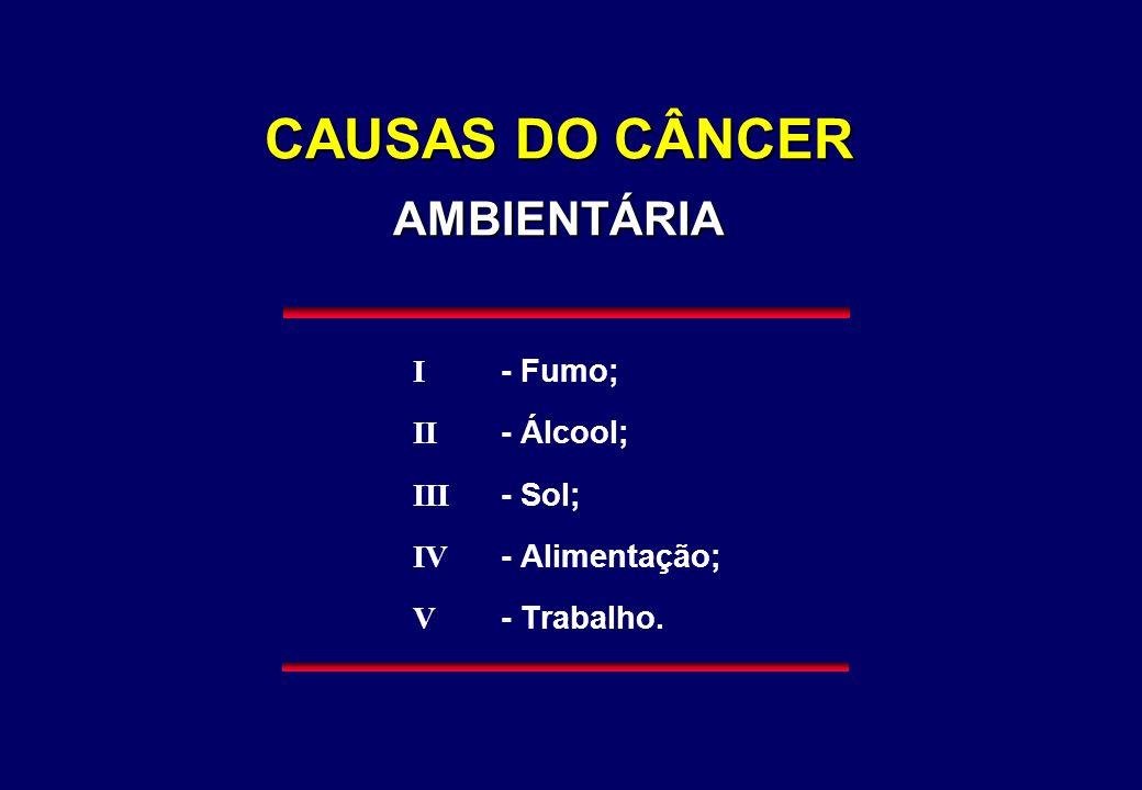 CAUSAS DO CÂNCER AMBIENTÁRIA