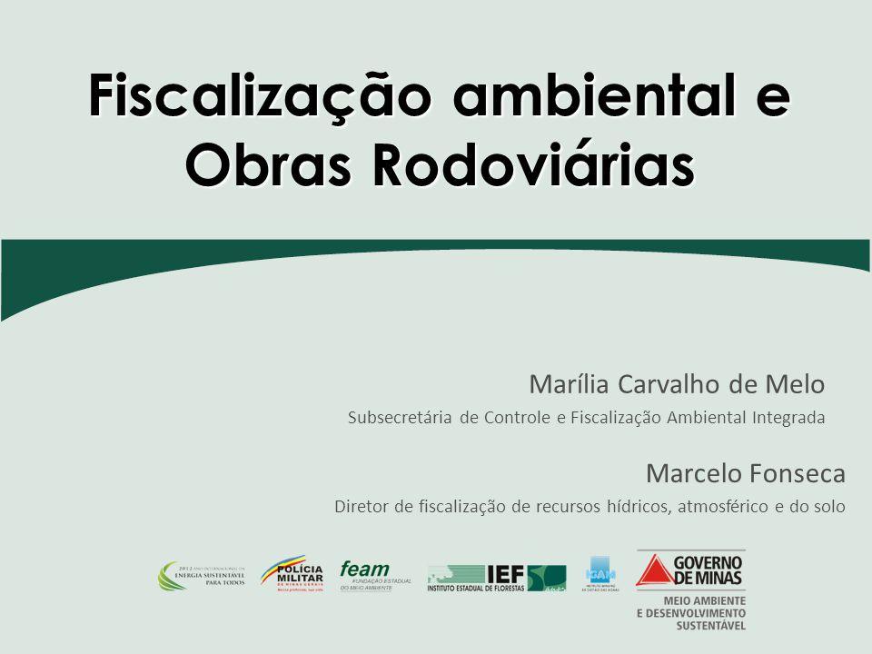 Fiscalização ambiental e Obras Rodoviárias