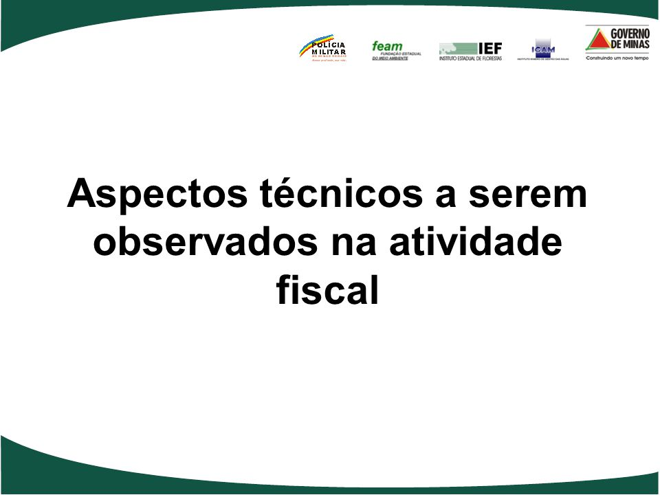 Aspectos técnicos a serem observados na atividade fiscal