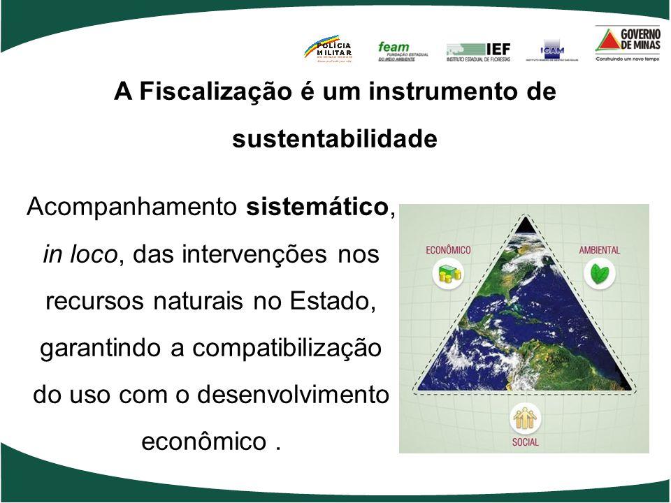 A Fiscalização é um instrumento de sustentabilidade