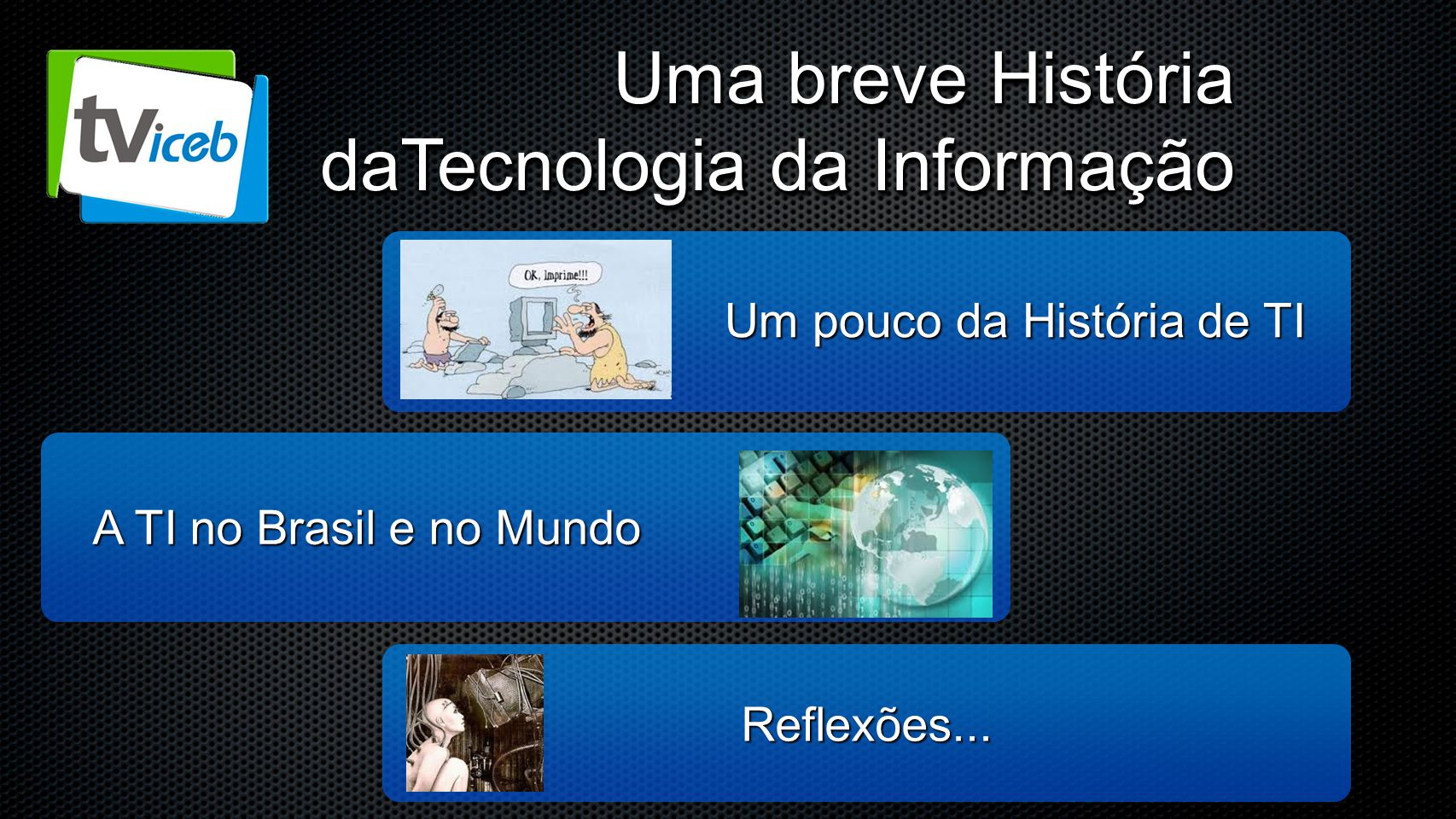 Um pouco da História de TI