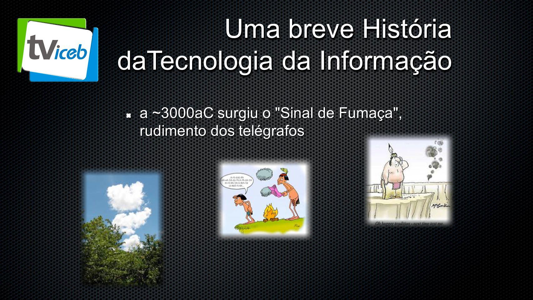 Uma breve História daTecnologia da Informação