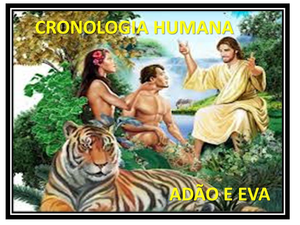 CRONOLOGIA HUMANA ADÃO E EVA
