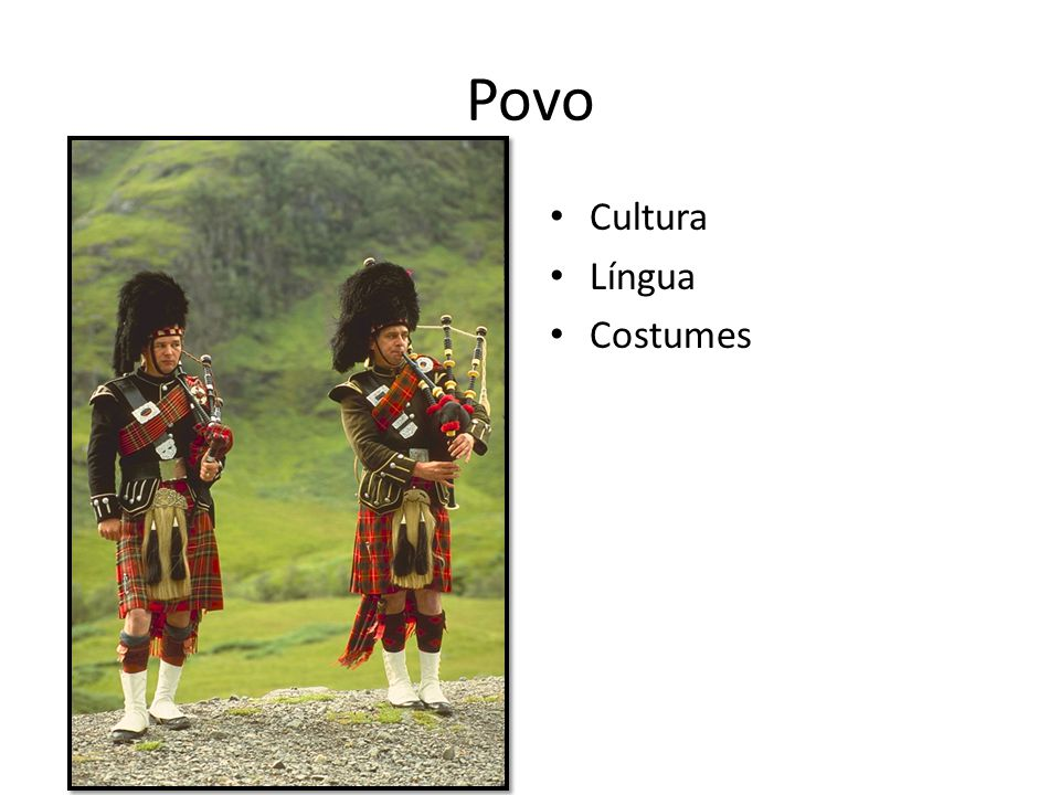 Povo Cultura Língua Costumes