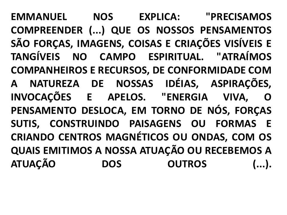 EMMANUEL NOS EXPLICA: PRECISAMOS COMPREENDER (