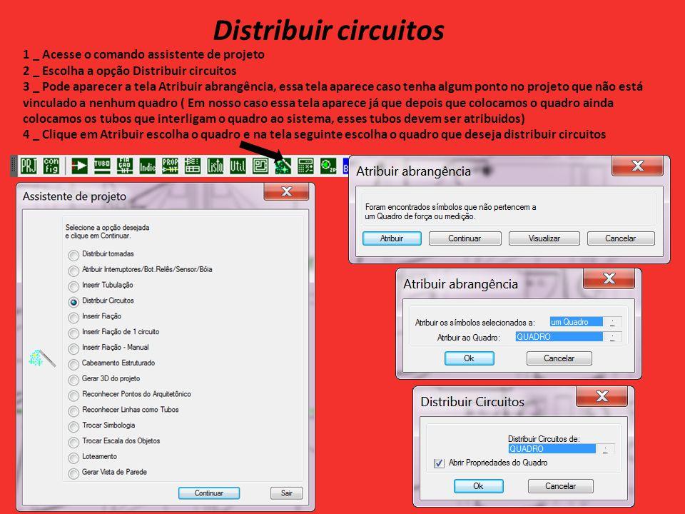 Distribuir circuitos