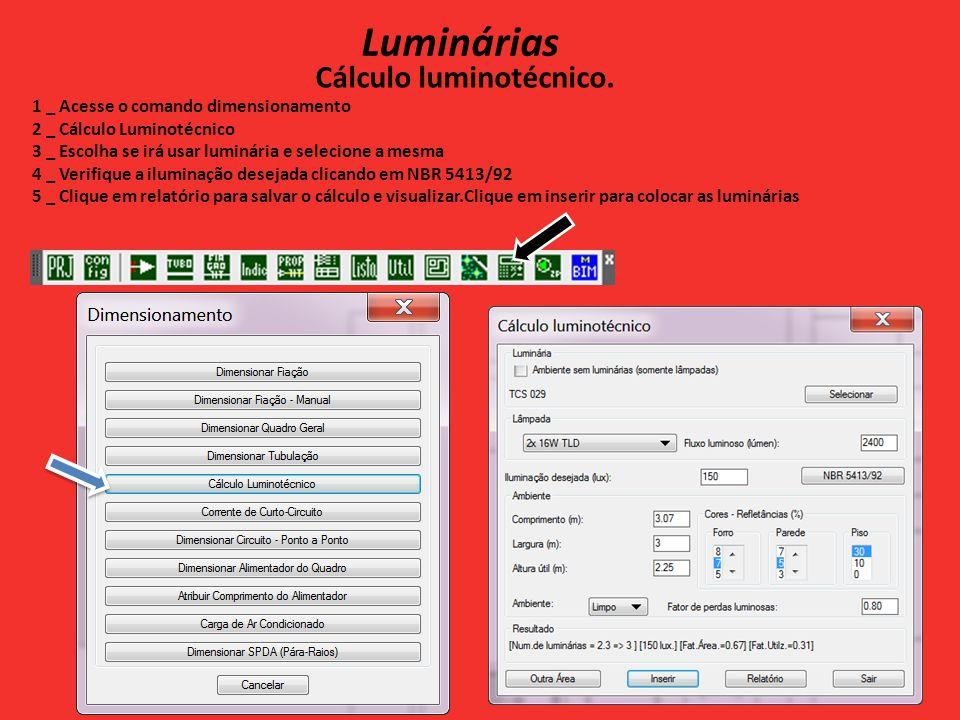 Cálculo luminotécnico.