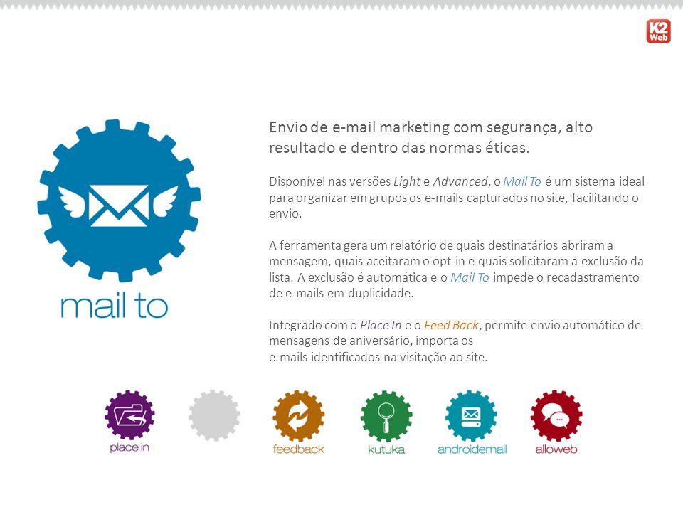 Envio de e-mail marketing com segurança, alto resultado e dentro das normas éticas.
