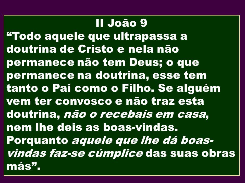 II João 9