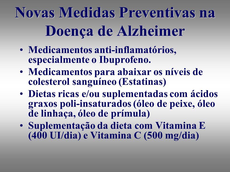 Novas Medidas Preventivas na Doença de Alzheimer