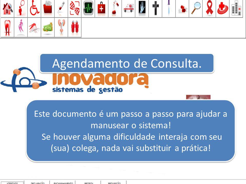 AGENDAMENTO DE CONSULTA