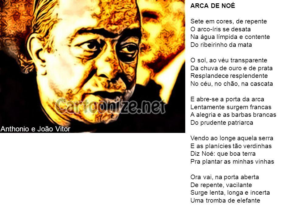 Anthonio e João Vitor ARCA DE NOÉ