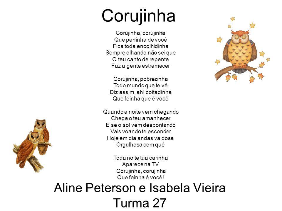 Aline Peterson e Isabela Vieira Turma 27