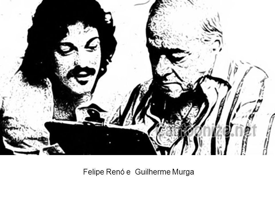 Felipe Renó e Guilherme Murga